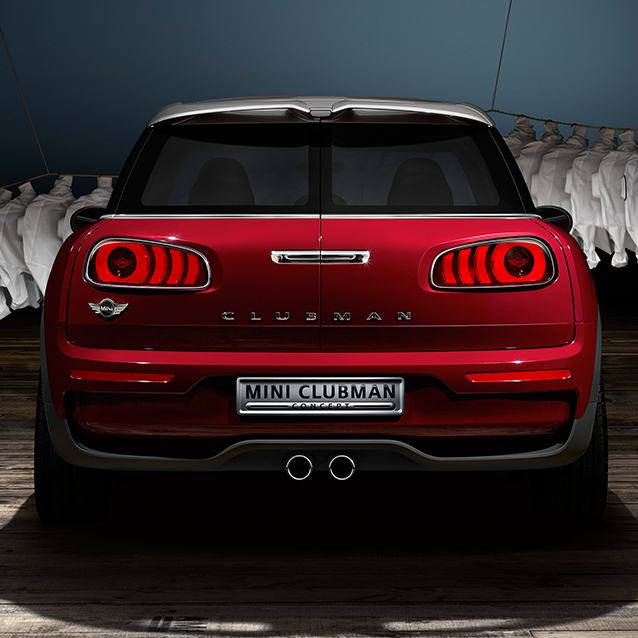 MINI Clubman concept split doors